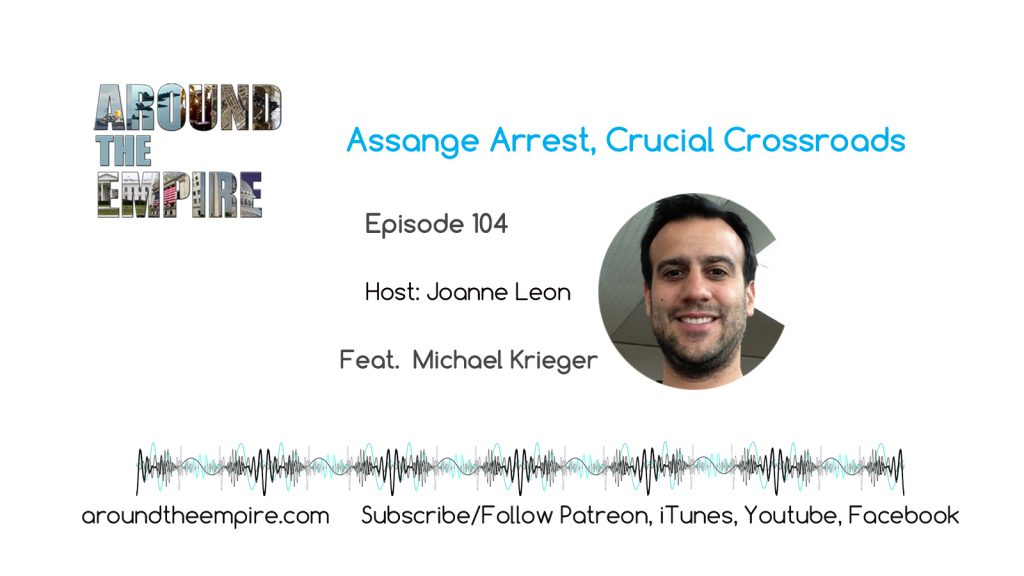 Ep104 Julian Assange Arrest, Crucial Crossroads feat Michael Krieger