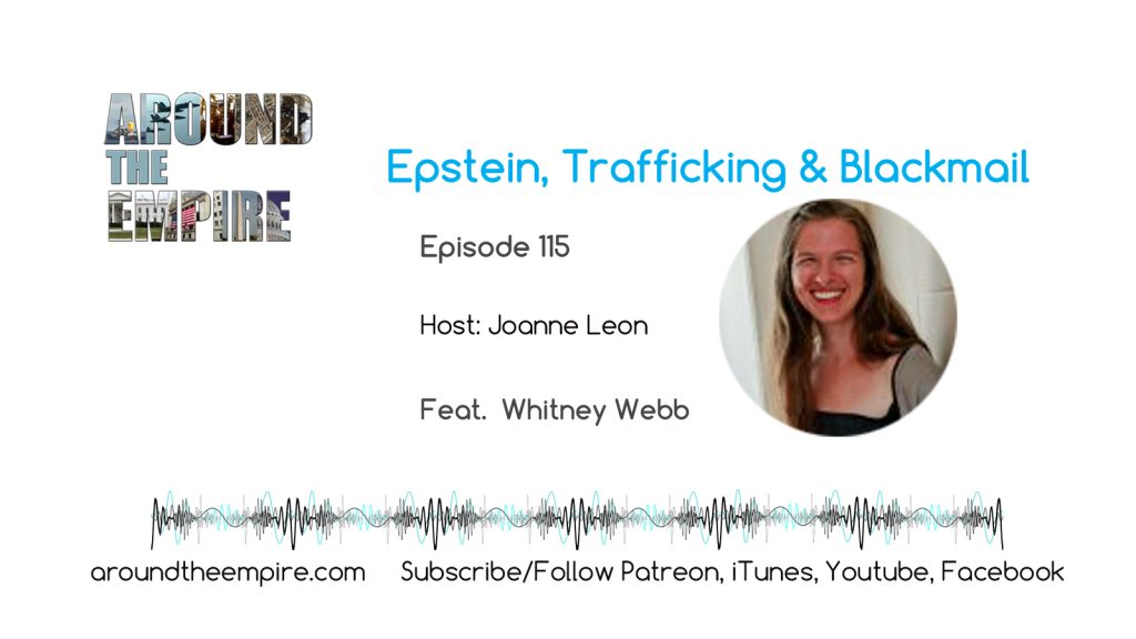 Ep115 Epstein Trafficking & Blackmail