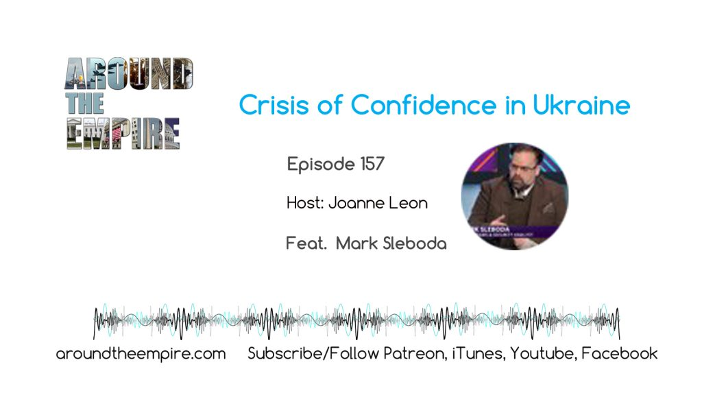 Ep 157 Crisis of Confidence in Ukraine feat Mark Sleboda
