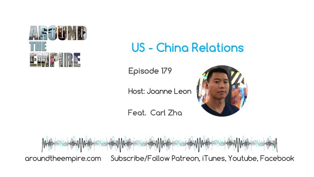 Ep 179 US - China Relations feat Carl Zha