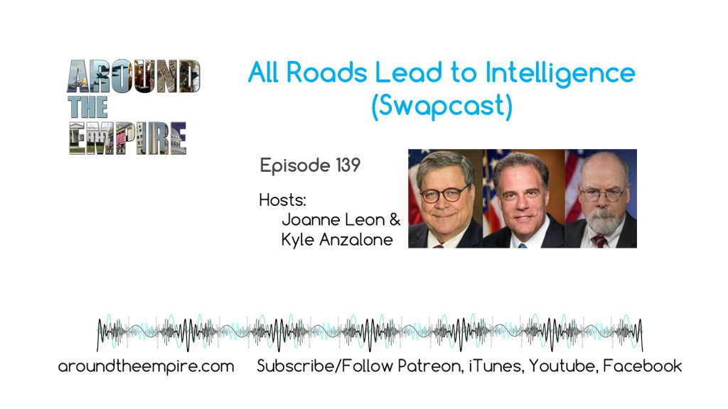 Ep 139 All Roads Lead to Intelligence Swapcast feat Kyle Anzalone