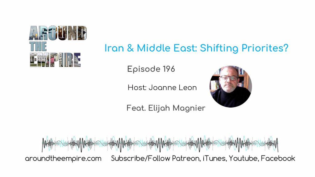 Ep 196  Iran & Middle East Shifting Priorites? feat Elijah Magnier