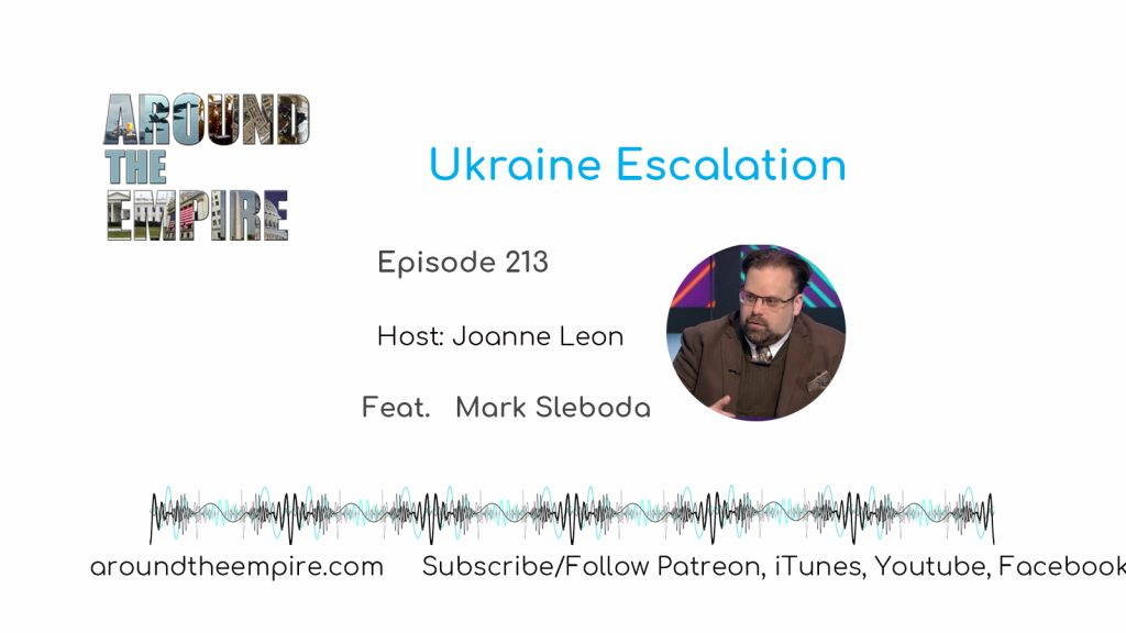 Ep 213 Ukraine Escalation feat Mark Sleboda