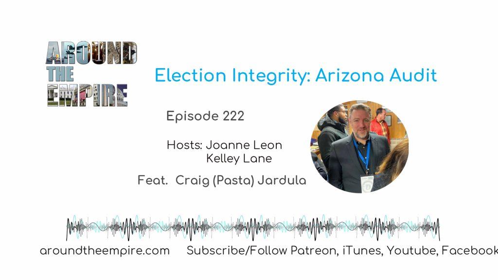 Ep 222 Election Integrity: Arizona Audit feat Craig (Pasta) Jardula