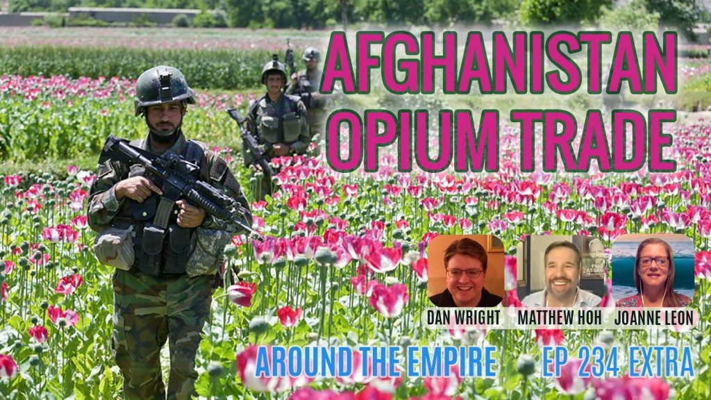 Ep 234EXTRA Afghanistan Opium Trade feat Matthew Hoh